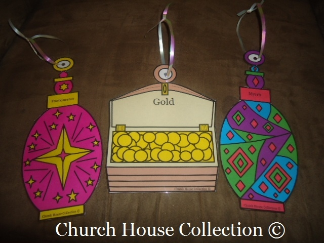 tree house coloring pages - three wise men gold frankincense myrrh