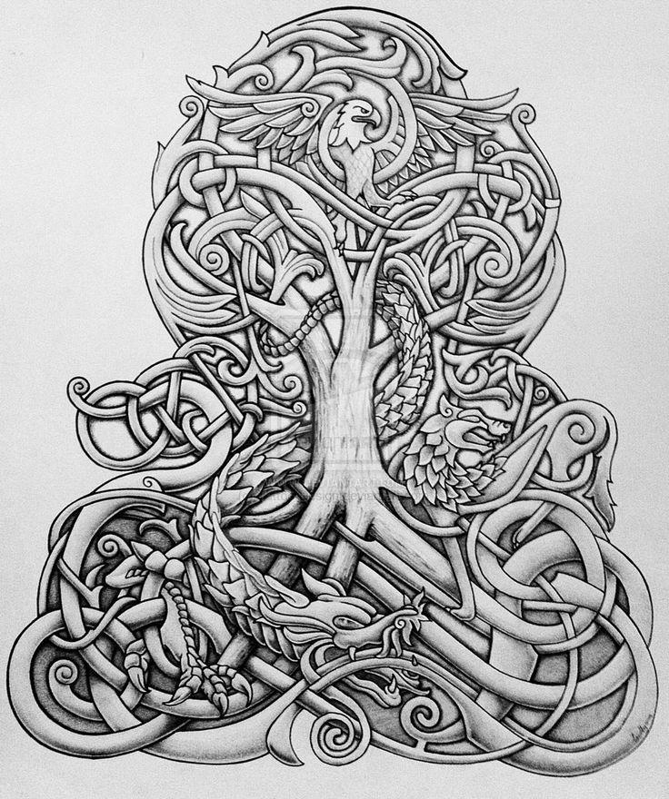 tree of life coloring pages -