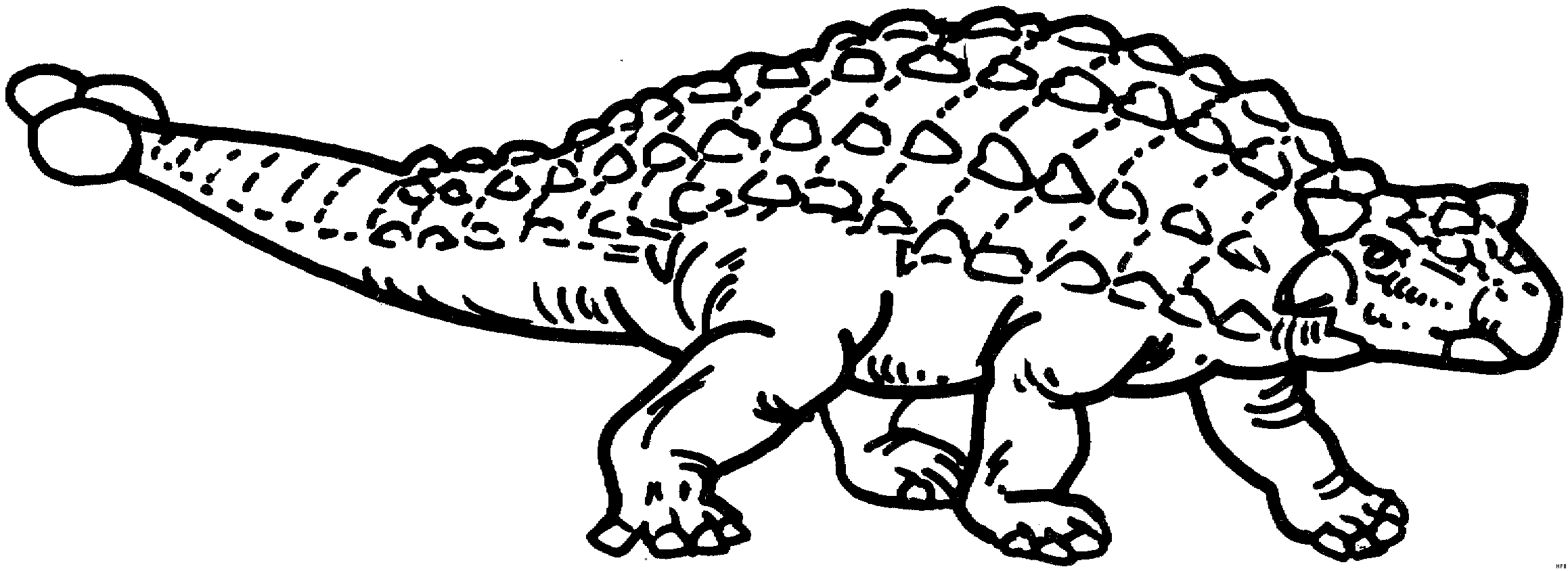 tribal coloring pages - tiere03