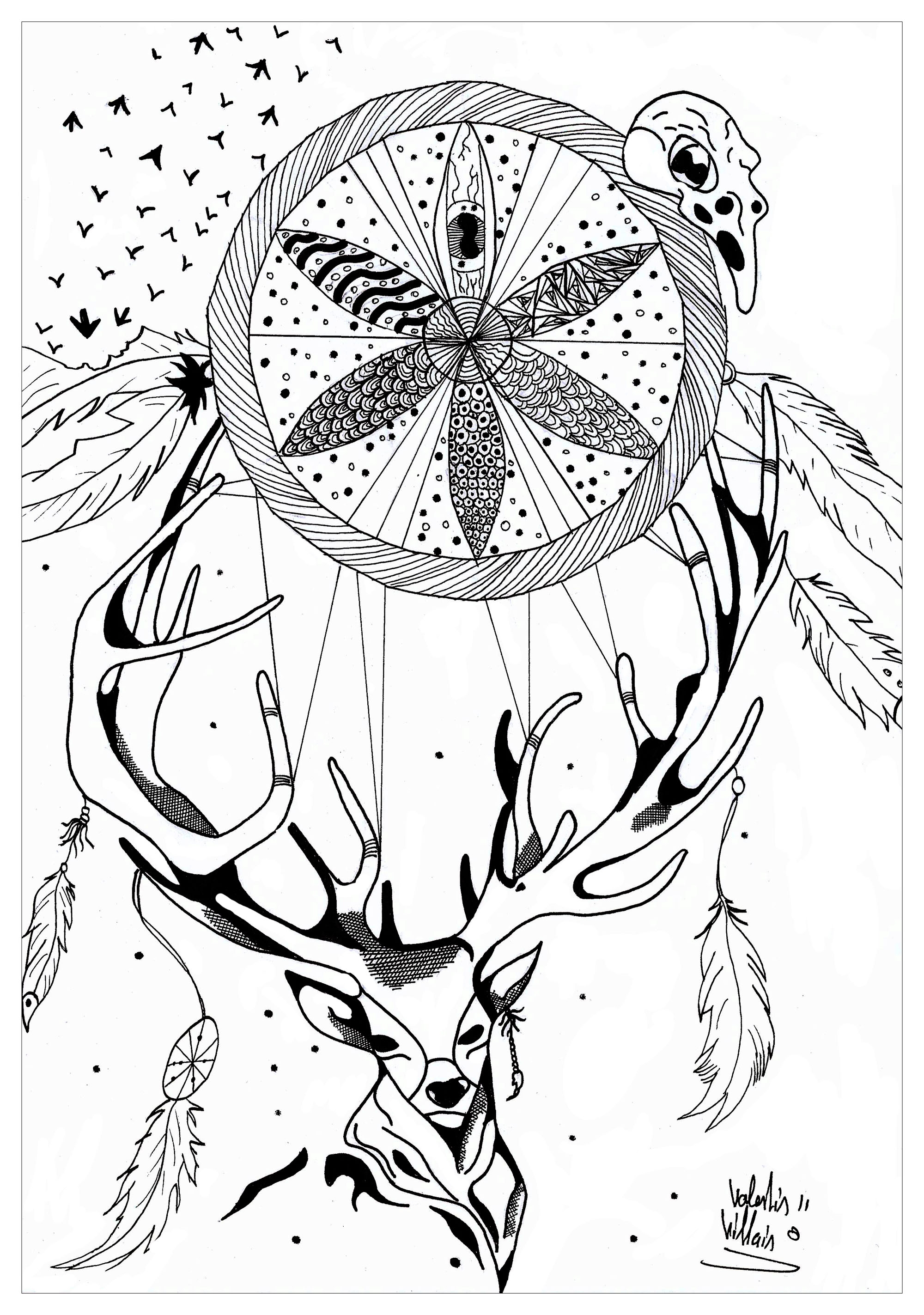 20 Trippy Coloring Pages Images | FREE COLORING PAGES - Part 2