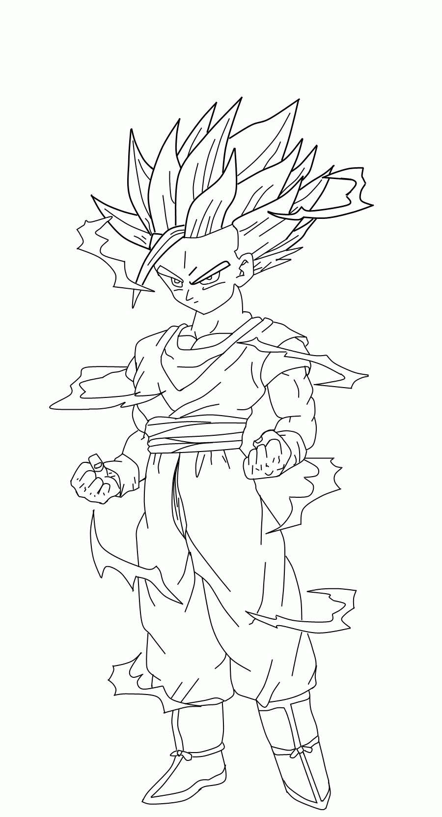 Trolls Coloring Pages Printable - Dbz Coloring Pages Gohan Coloring Home