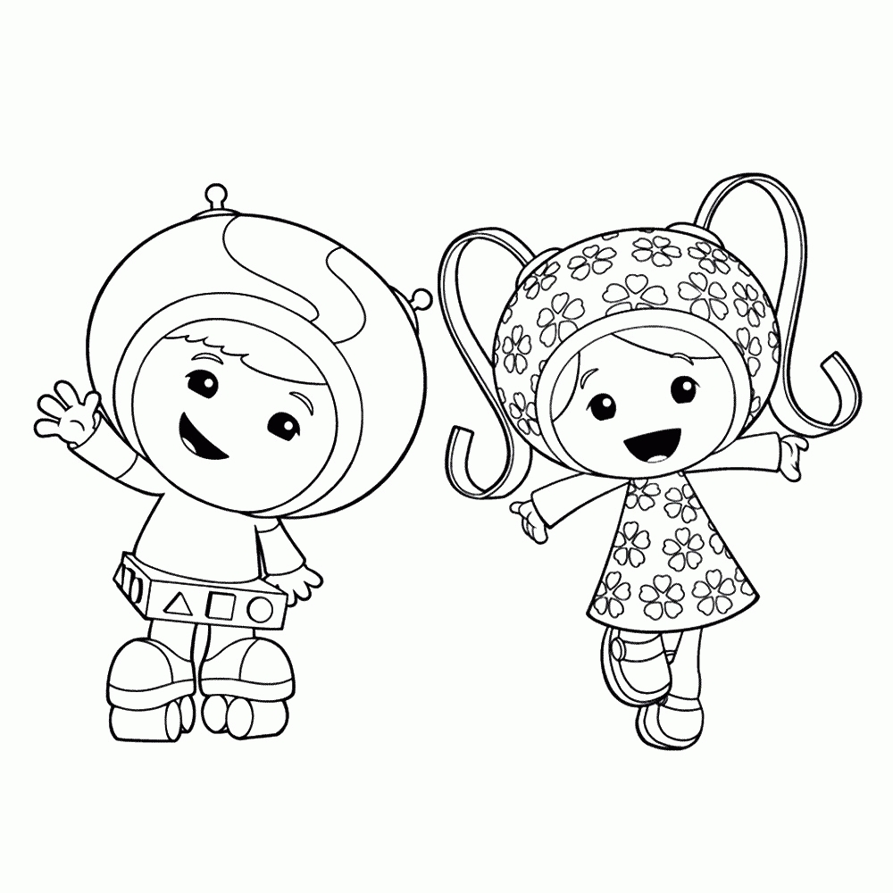 trolls coloring pages printable - free team umizoomi coloring pages printable