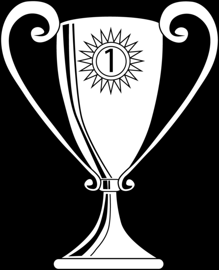 trophy coloring page - winning trophy coloring page 1779