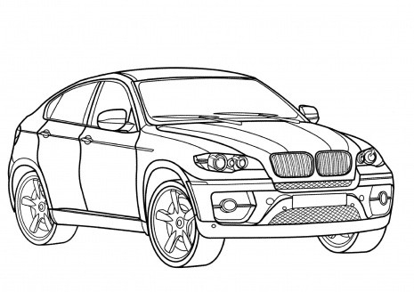 truck coloring pages -