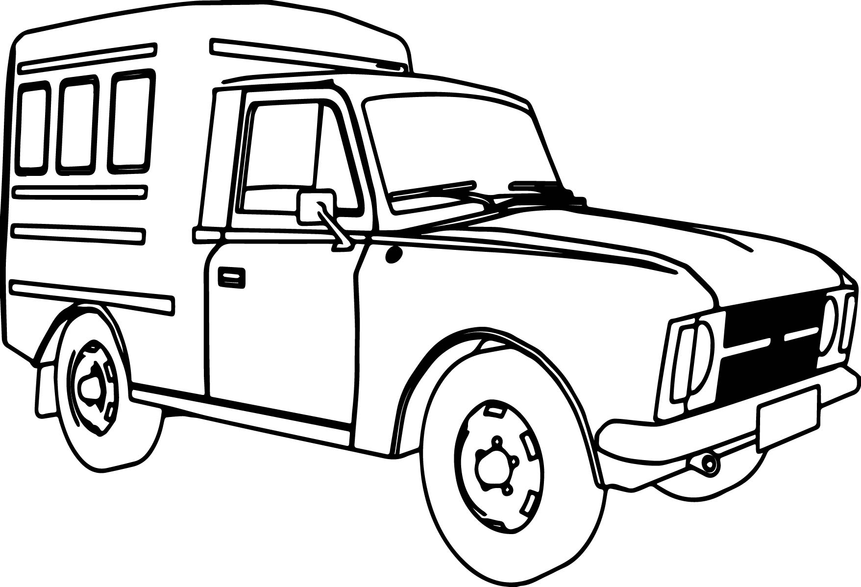 21 Truck Coloring Pages Compilation Free Coloring Pages