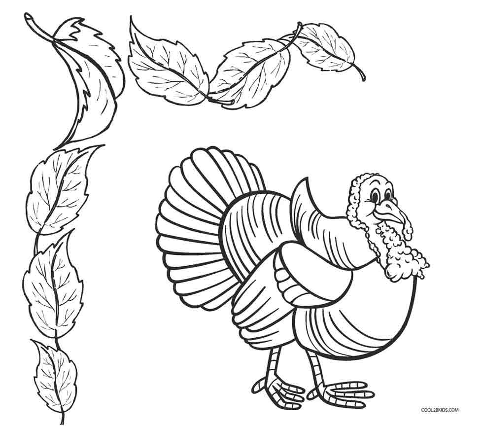 turkey coloring pages printable - turkey coloring pages