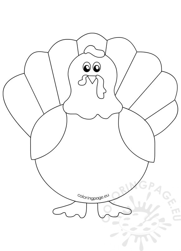 turkey coloring pages printable - printable turkey coloring pages kids