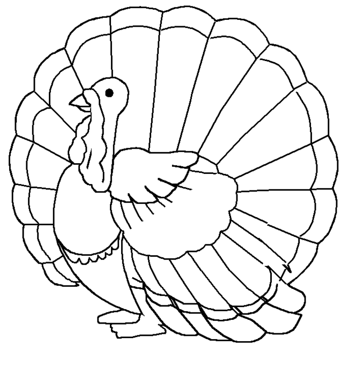 turkey coloring pages - turkey coloring pages