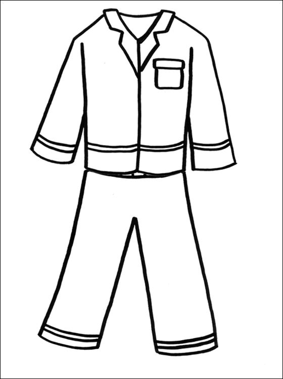 turn pictures into coloring pages for free - kleding kleurplaten