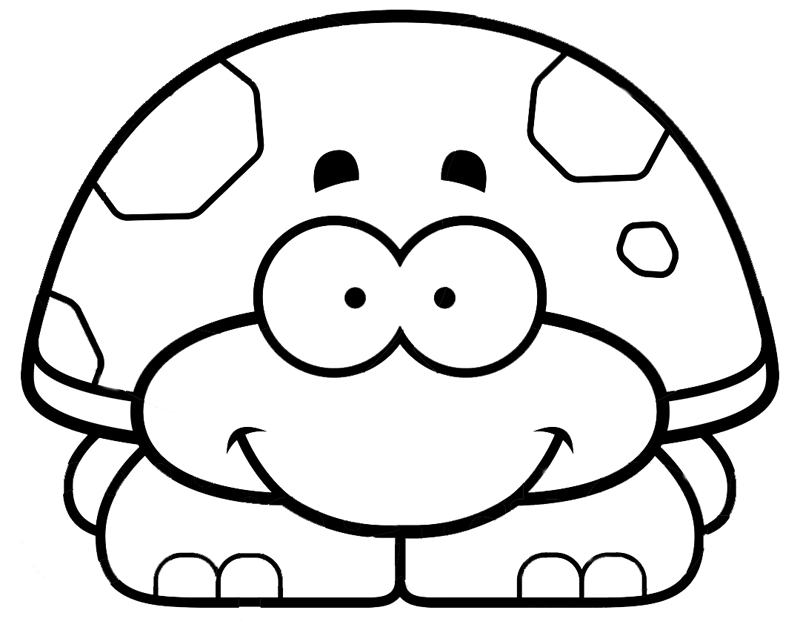turtle coloring pages printable - free printable turtle coloring pages for preschool