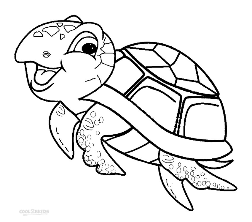 turtle coloring pages printable - r=a turtle