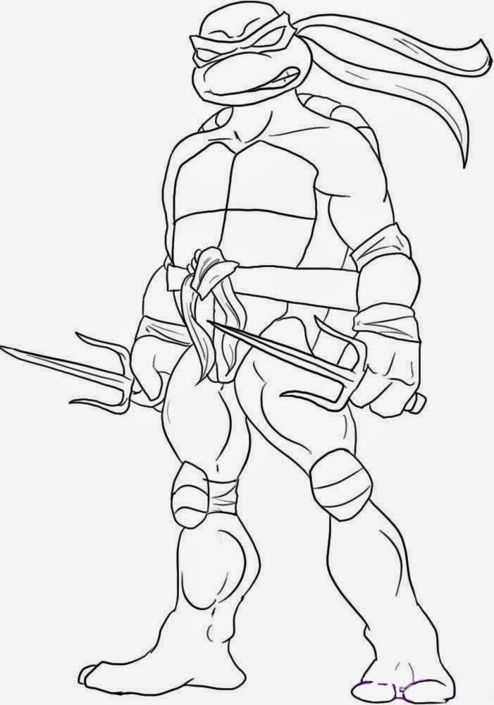 turtle coloring pages - mutant ninja turtles coloring pages