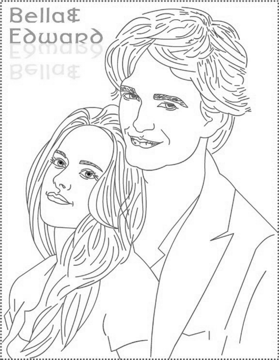 twilight coloring pages - twilight