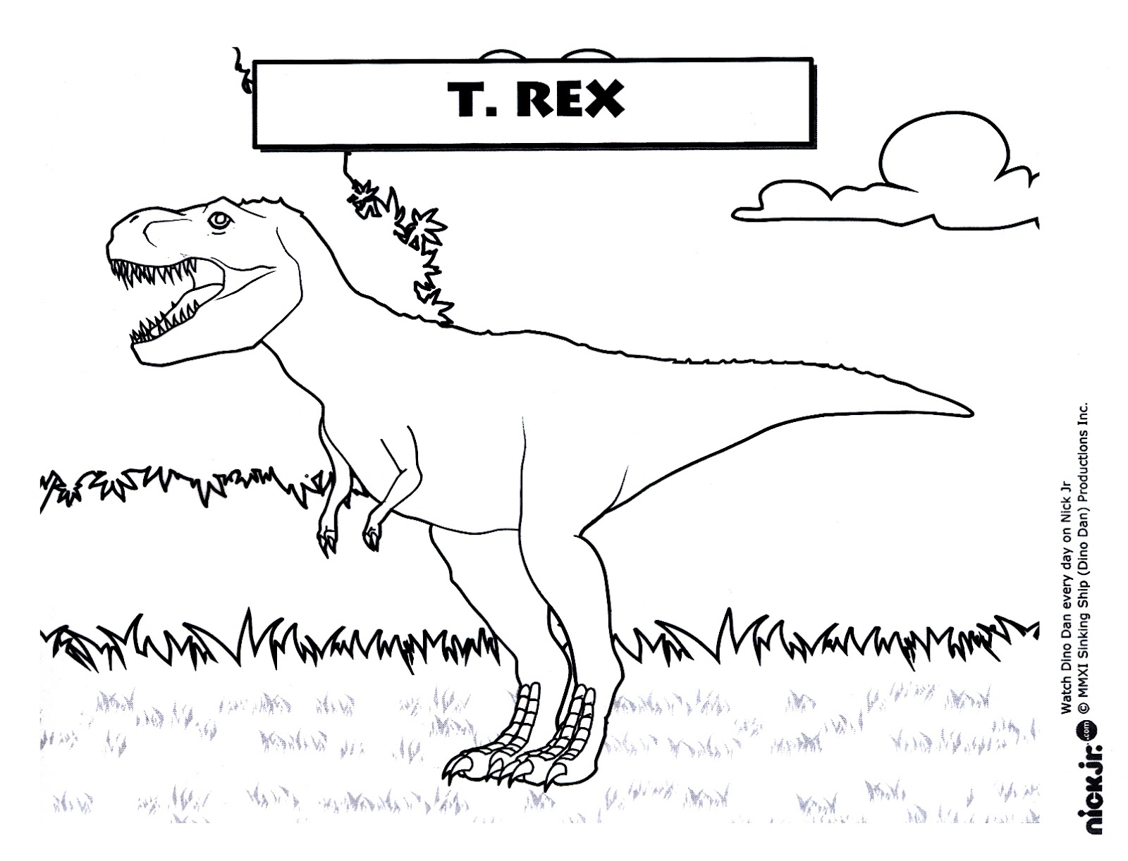 27 Tyrannosaurus Rex Coloring Page Printable | FREE COLORING PAGES