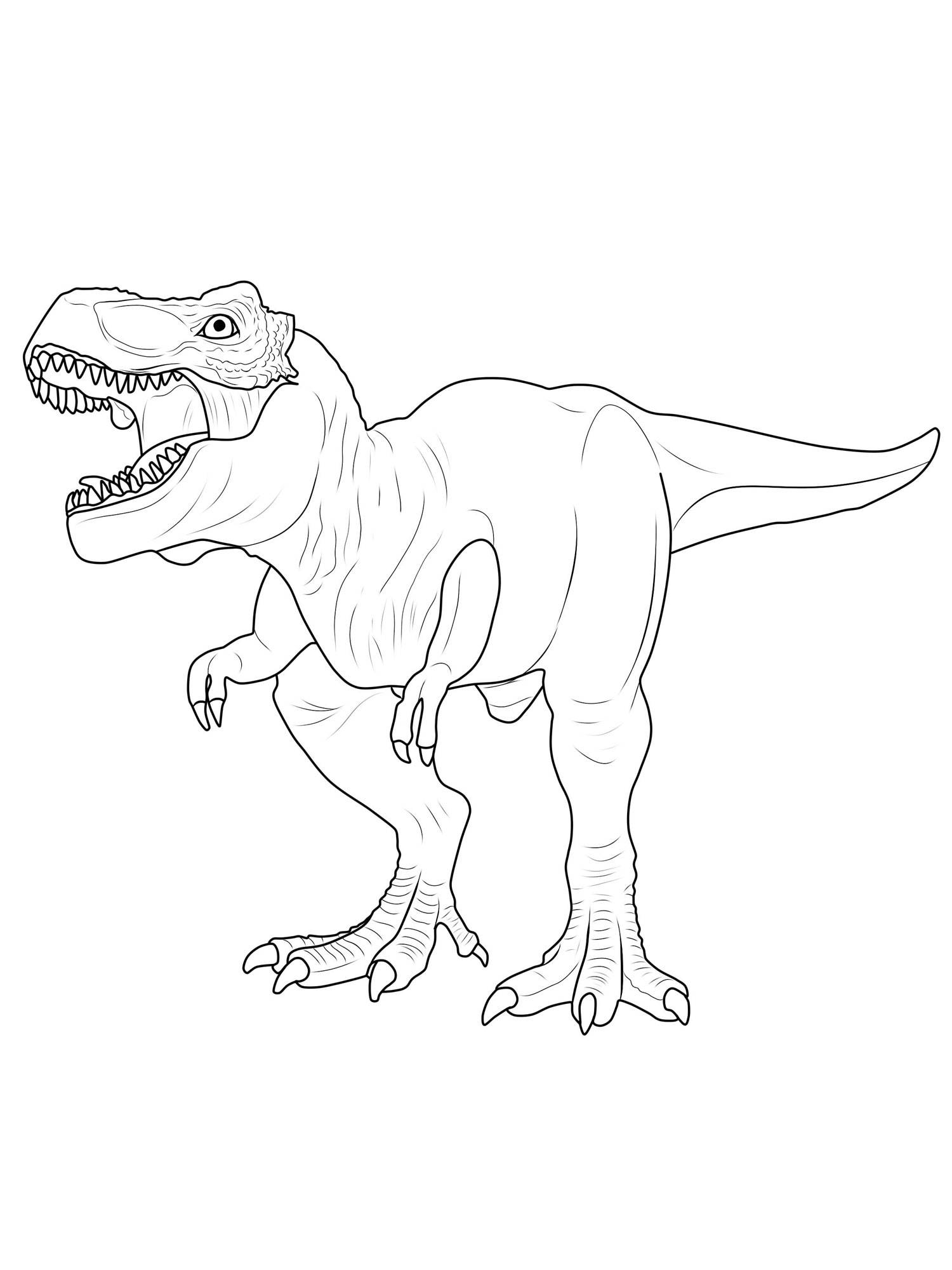 Ausmalbilder Dinosaurier Rex : 27 Tyrannosaurus Rex Coloring Page Printable Free Coloring Pages