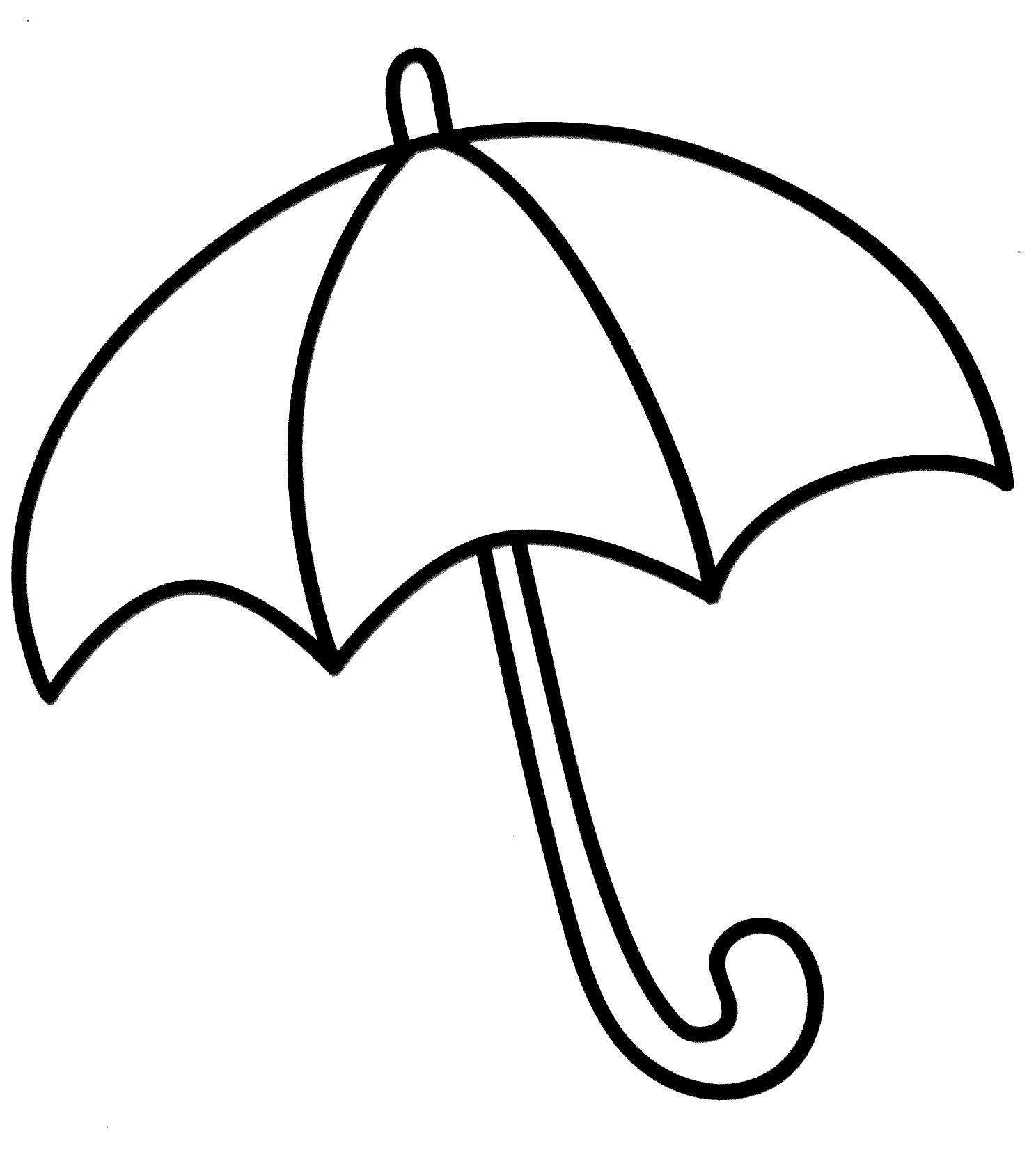 umbrella coloring page - umbrella coloring pages
