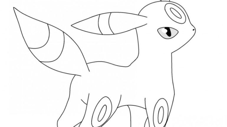 umbreon coloring pages - free background coloring pokemon coloring pages umbreon new at pokemon coloring pages umbreon interior design decoration with