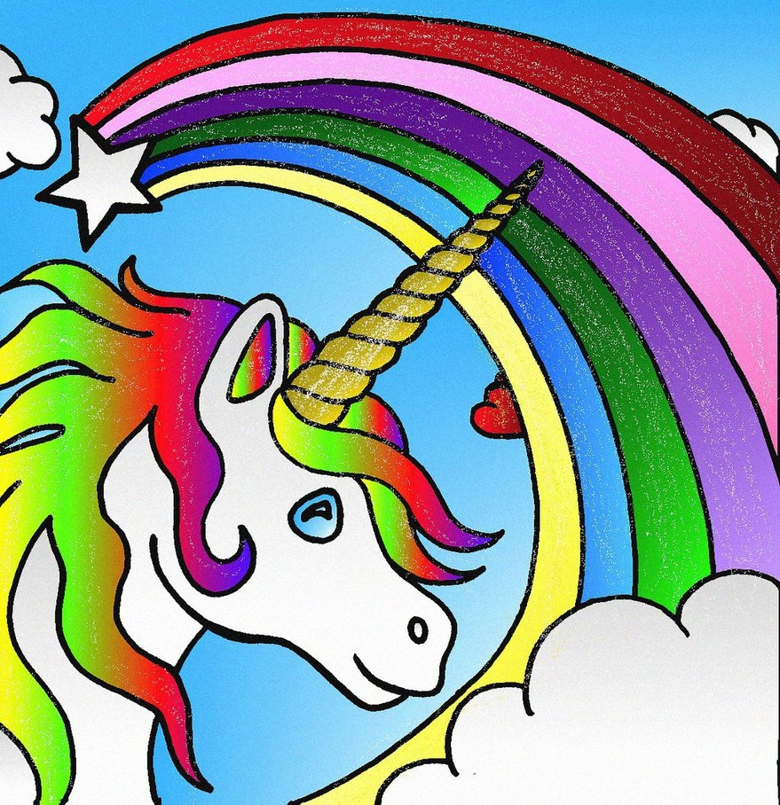 Unicorn Coloring Pages for Adults - Unicorn Coloring Pages for Kids by Rebelheart1979 On