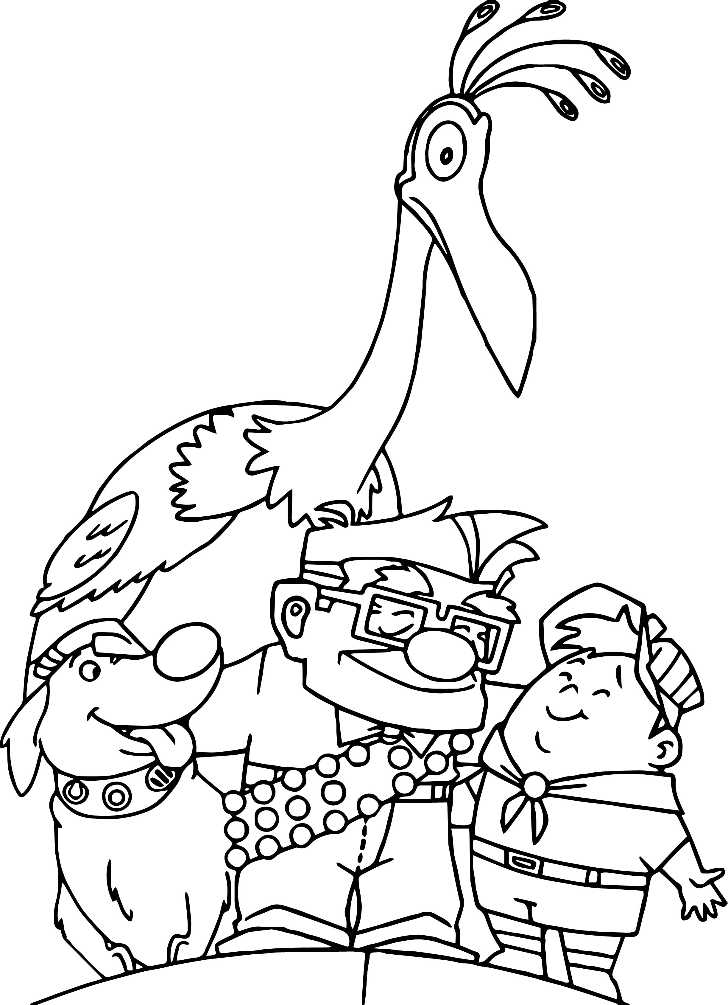 21 Up Coloring Pages Selection | FREE COLORING PAGES - Part 3