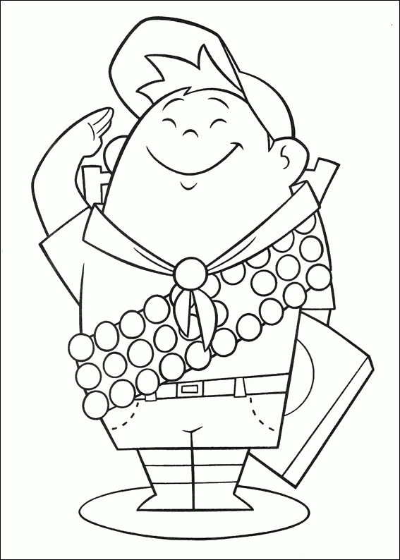 up coloring pages - pixar up coloring pages