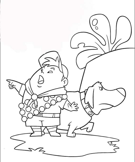 up coloring pages - Up Coloring Pages