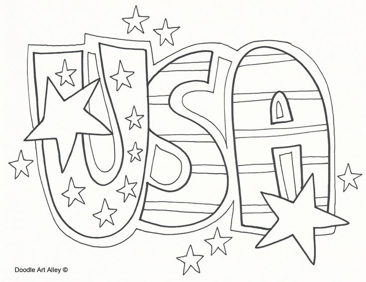 usa coloring pages - free coloring pages
