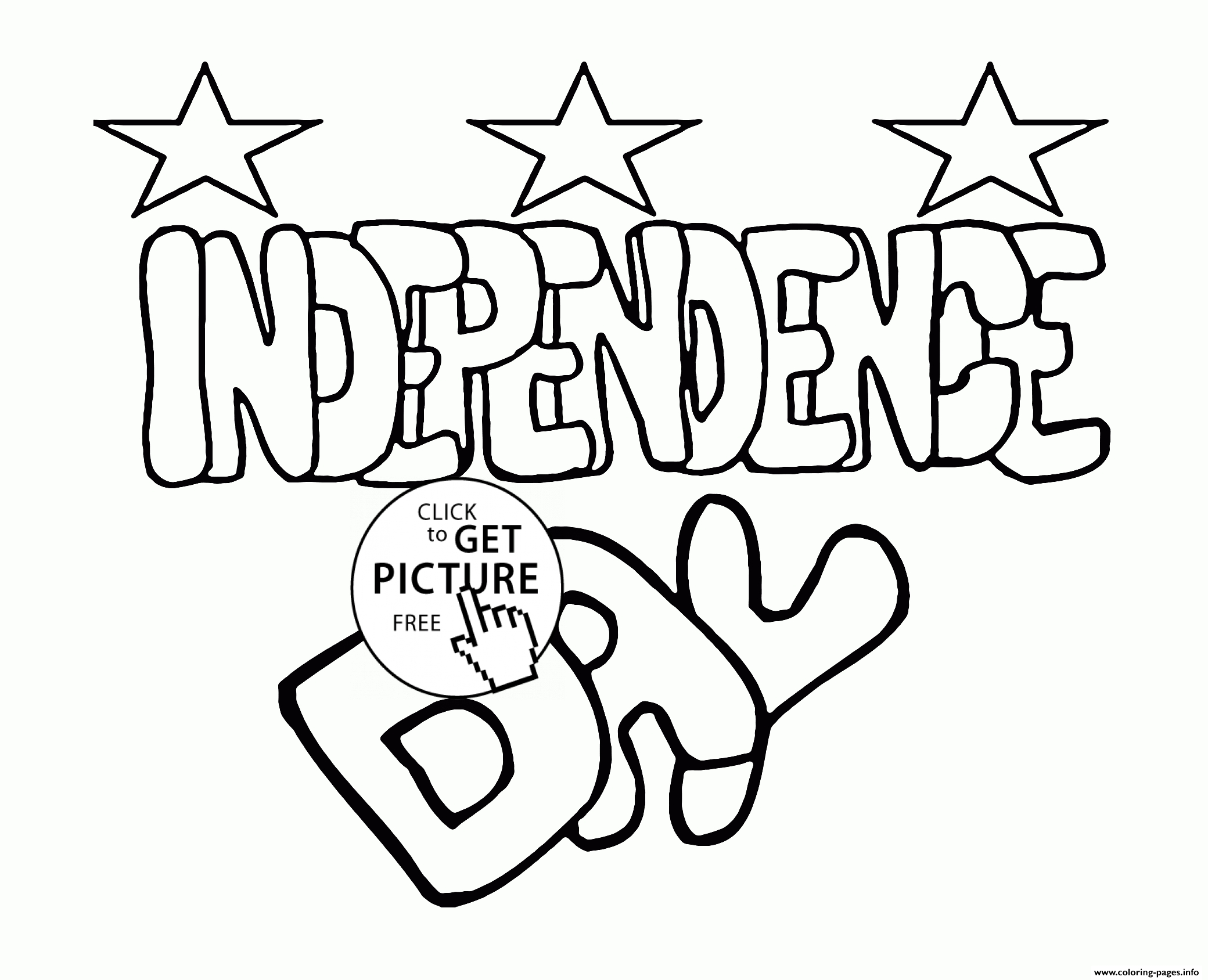 usa coloring pages - independence day of america usa 4 july printable coloring pages book