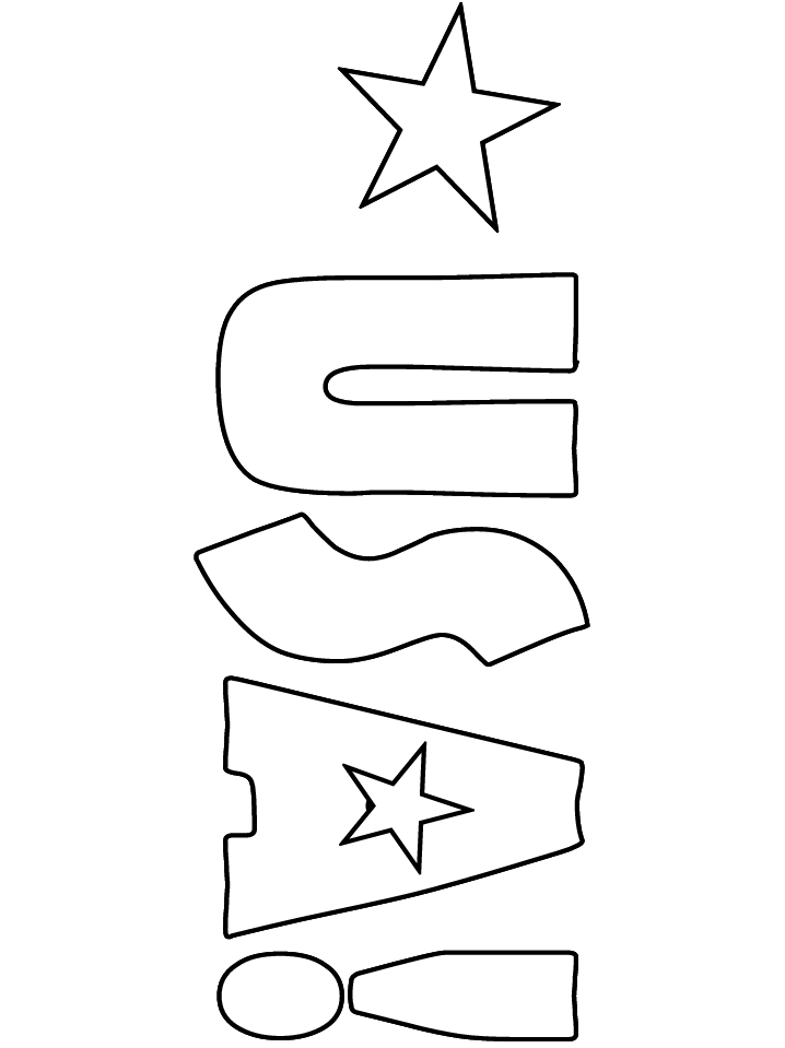 usa coloring pages - usa 24 coloring pages