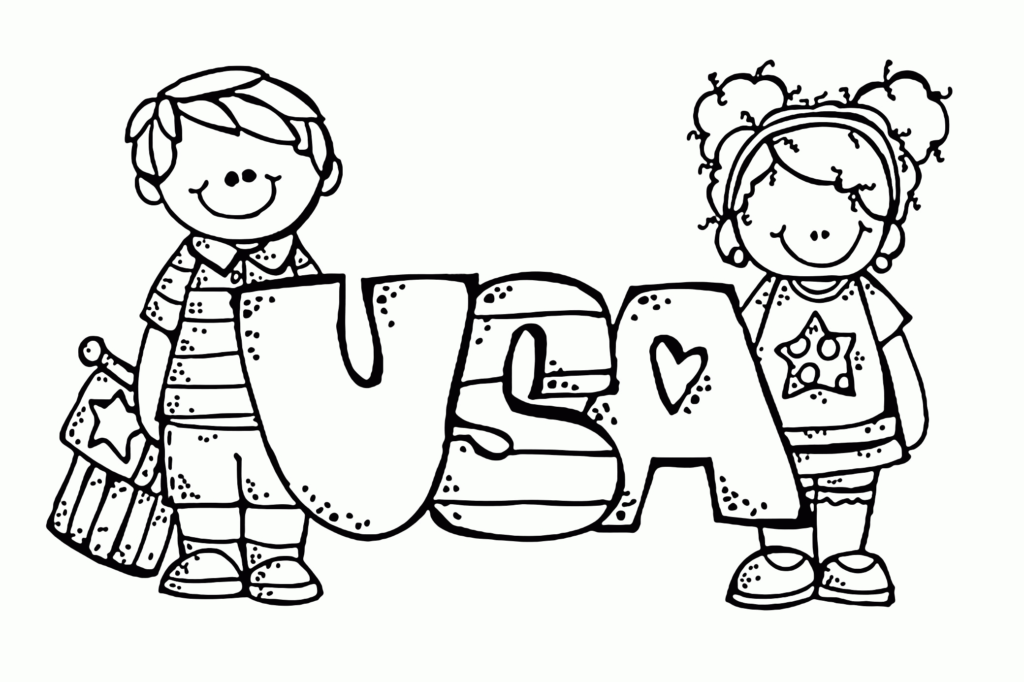 Usa Coloring Pages - Usa Coloring Page Az Coloring Pages