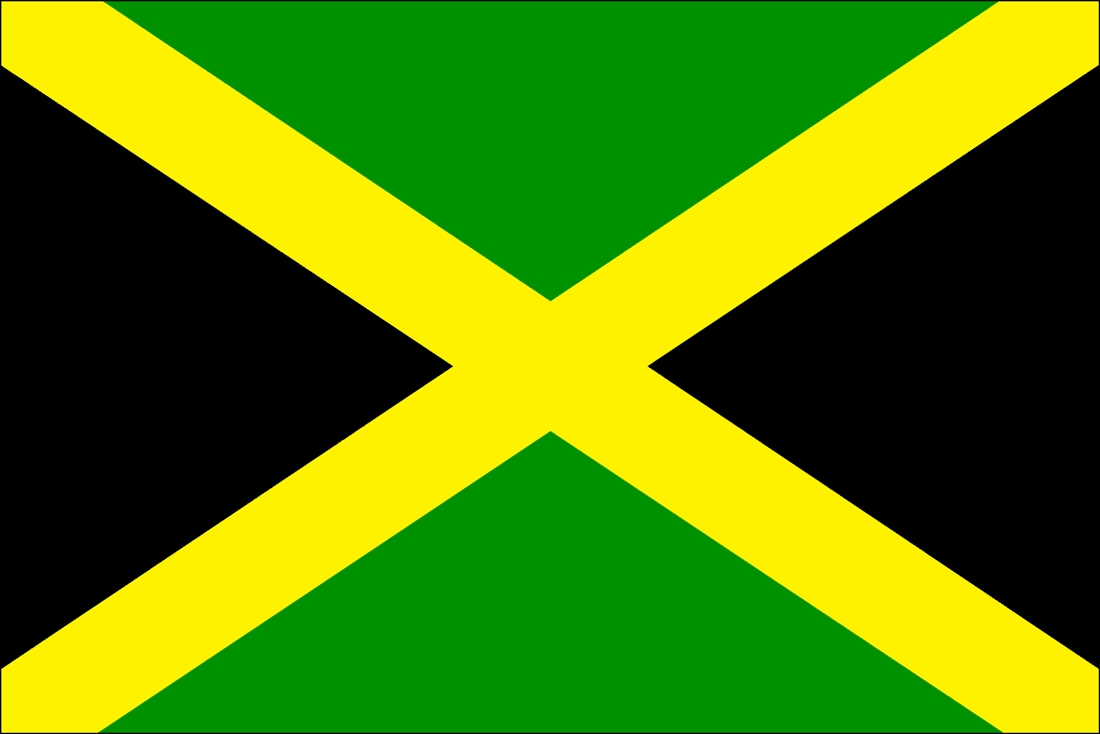 usa flag coloring page - flag of jamaica
