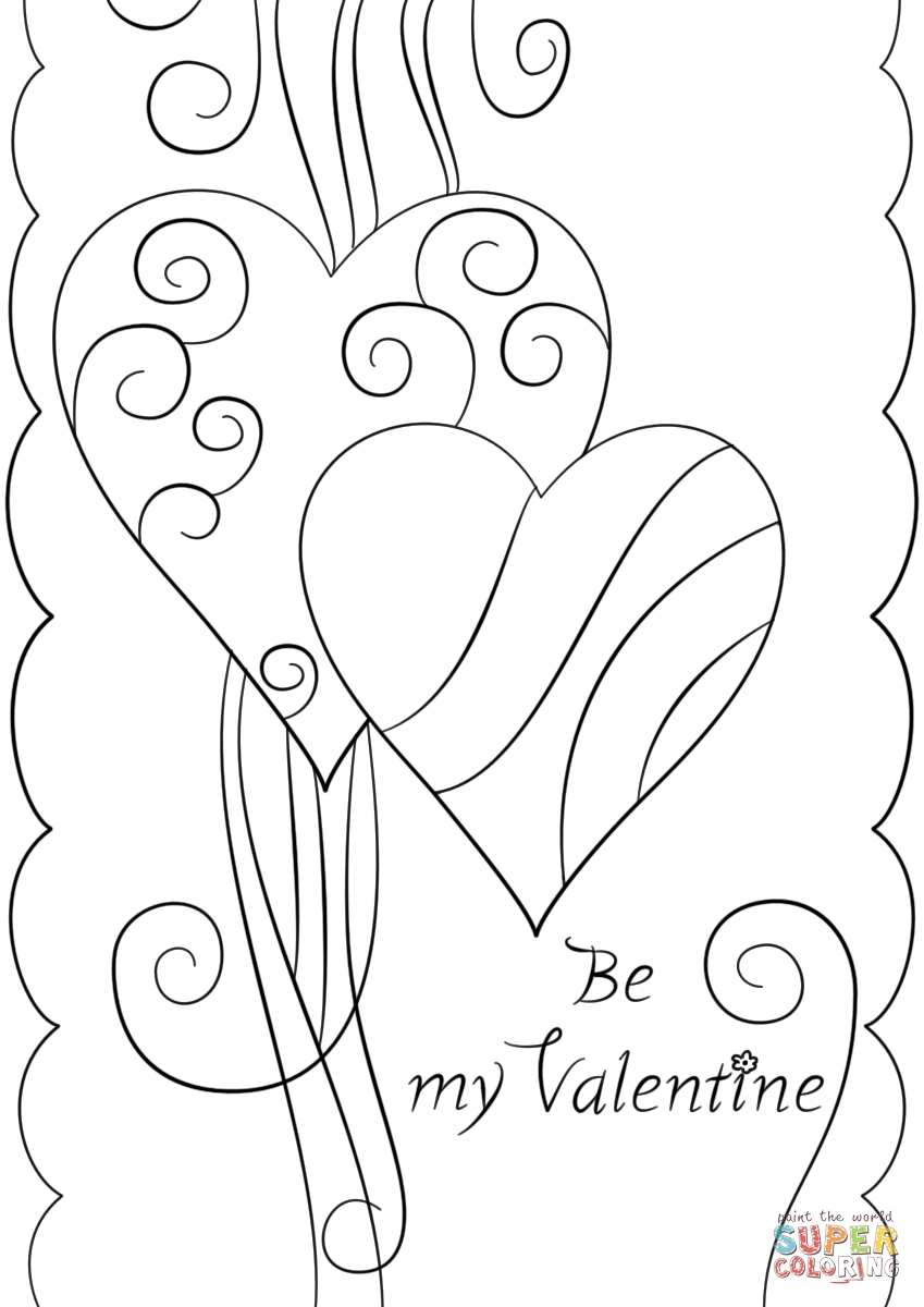 Valentine Coloring Pages Disney - Disney Valentines Day Coloring Pages Coloring Page
