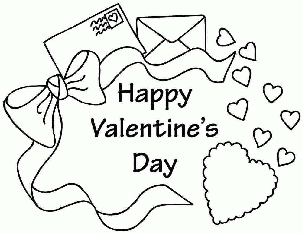 valentine coloring pages for preschool - preschool valentine coloring pages