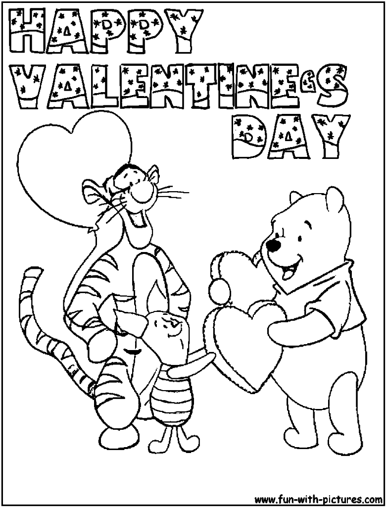 Valentines Coloring Pages - Coloring Pages Valentines Day Coloring Pages