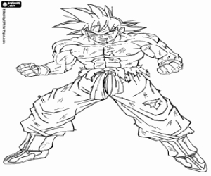 vegeta coloring pages - coloriages dragon ball dragonball a colorier 2