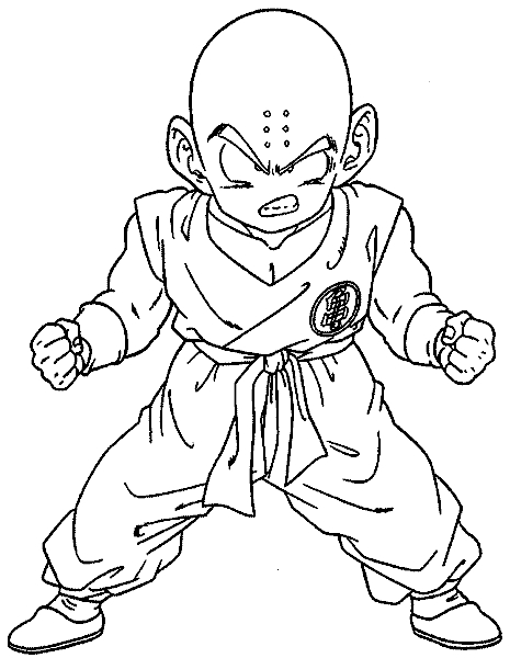 vegeta coloring pages - dragonball z