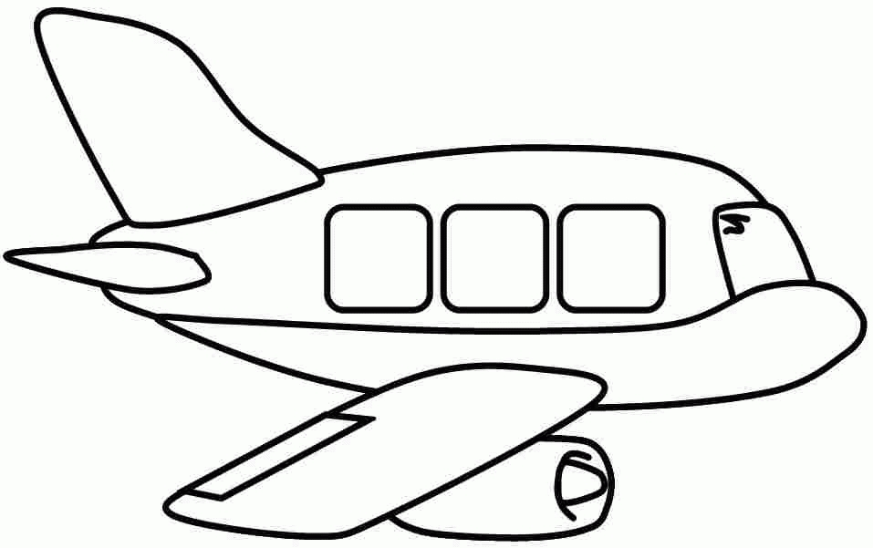 vehicle coloring pages - air transportation vehicle coloring page
