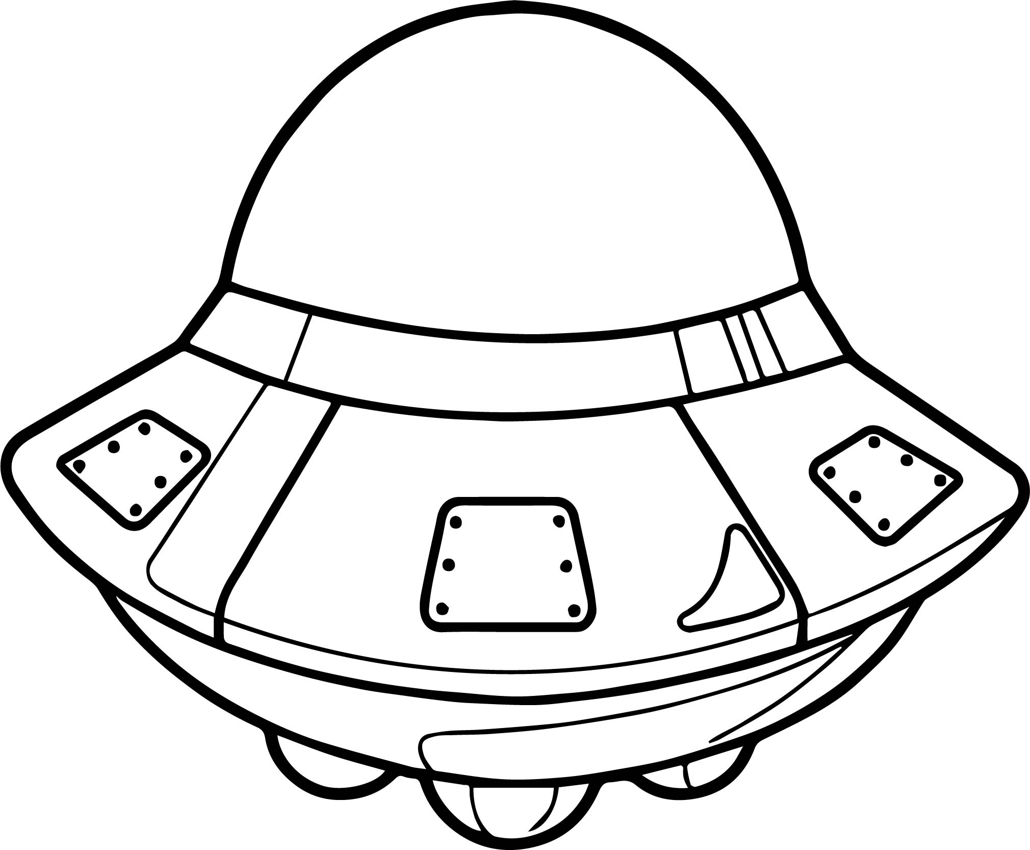 vehicle coloring pages - astronaut space vehicle coloring page