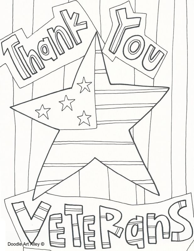 veterans coloring pages - thanksgiving coloring pages