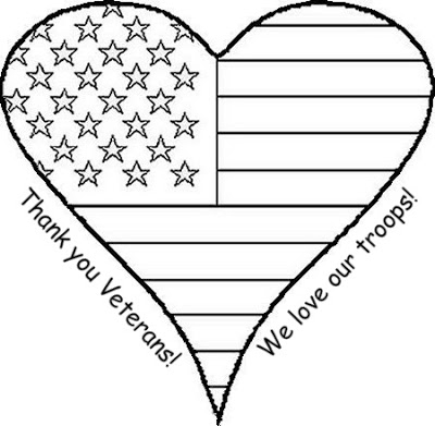 veterans day coloring pages - veterans day coloring page