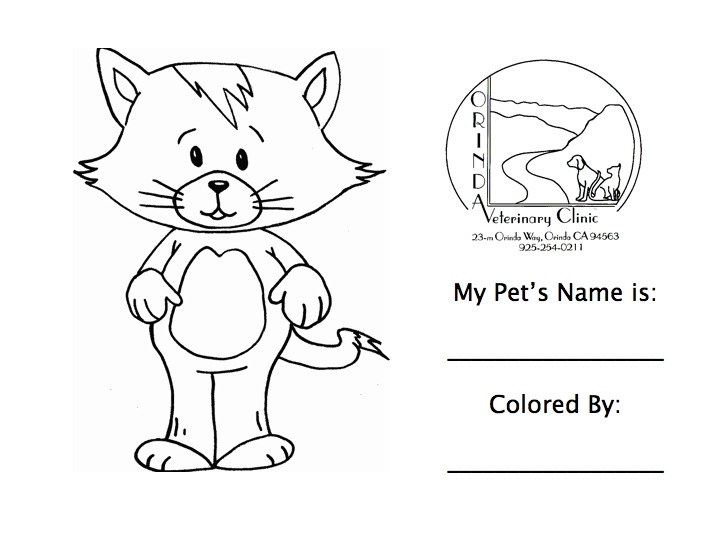 veterinary coloring pages - veterinarian coloring pages