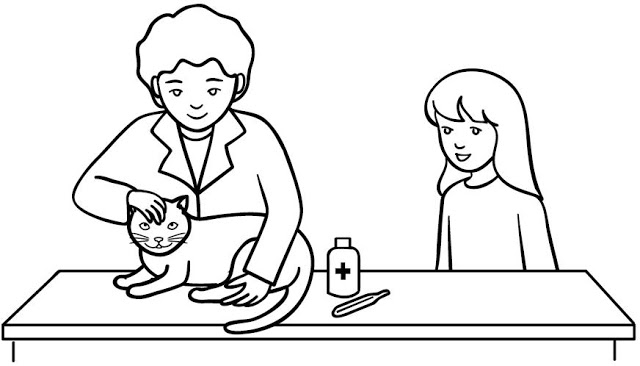 veterinary coloring pages - veterinary coloring pages veterinary to color