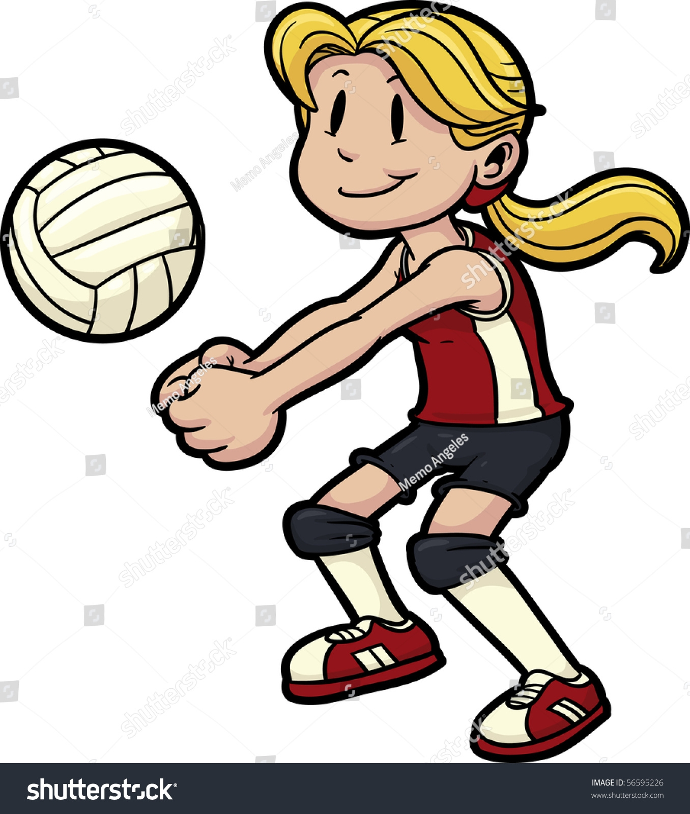 volleyball coloring pages - people playing volleyball clipart