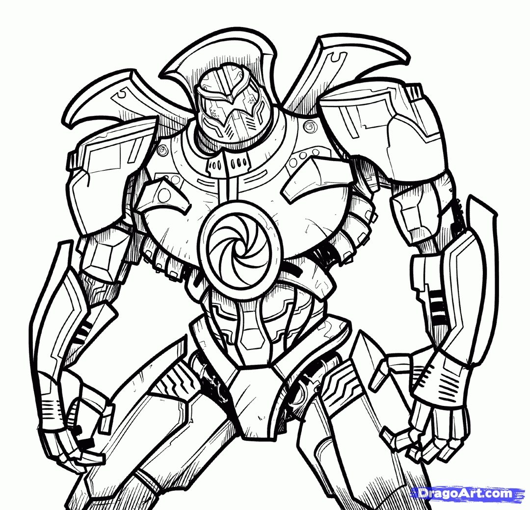 voltron coloring pages -