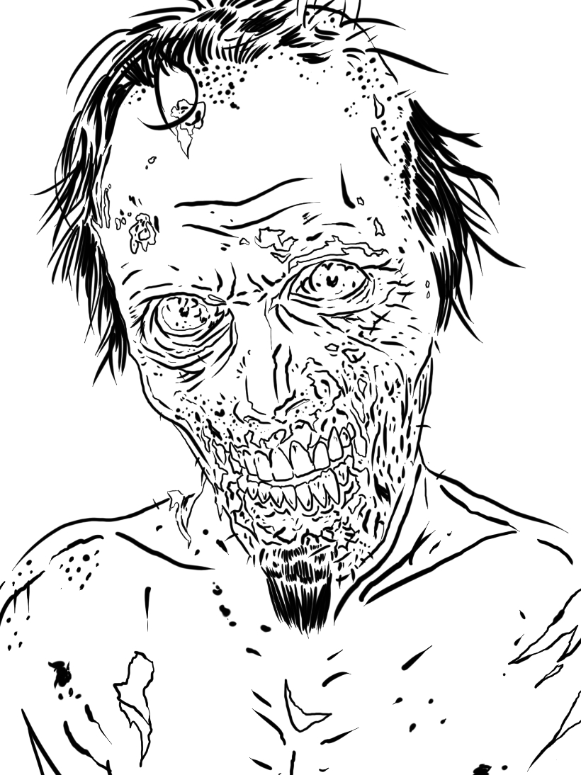 28 Walking Dead Coloring Pages Printable Free Coloring Pages Part 3
