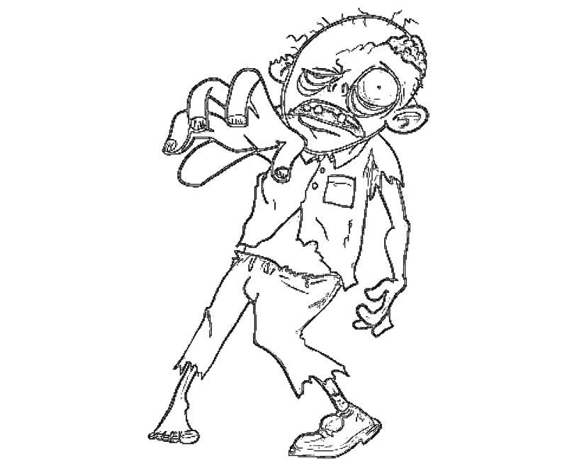 walking dead coloring pages - the walking dead