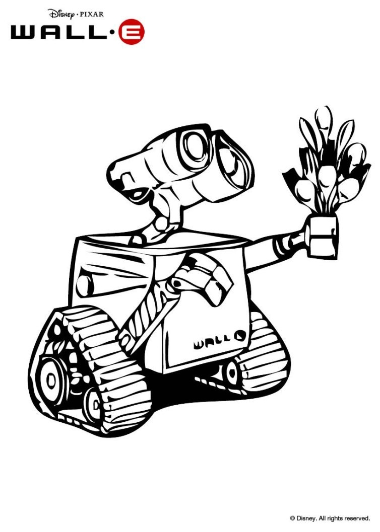 Wall E Coloring Pages - Free Printables Downloads and Activities to Disney S