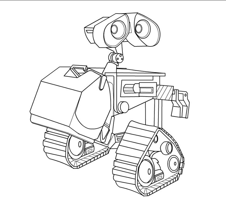 28 Wall E Coloring Pages Compilation