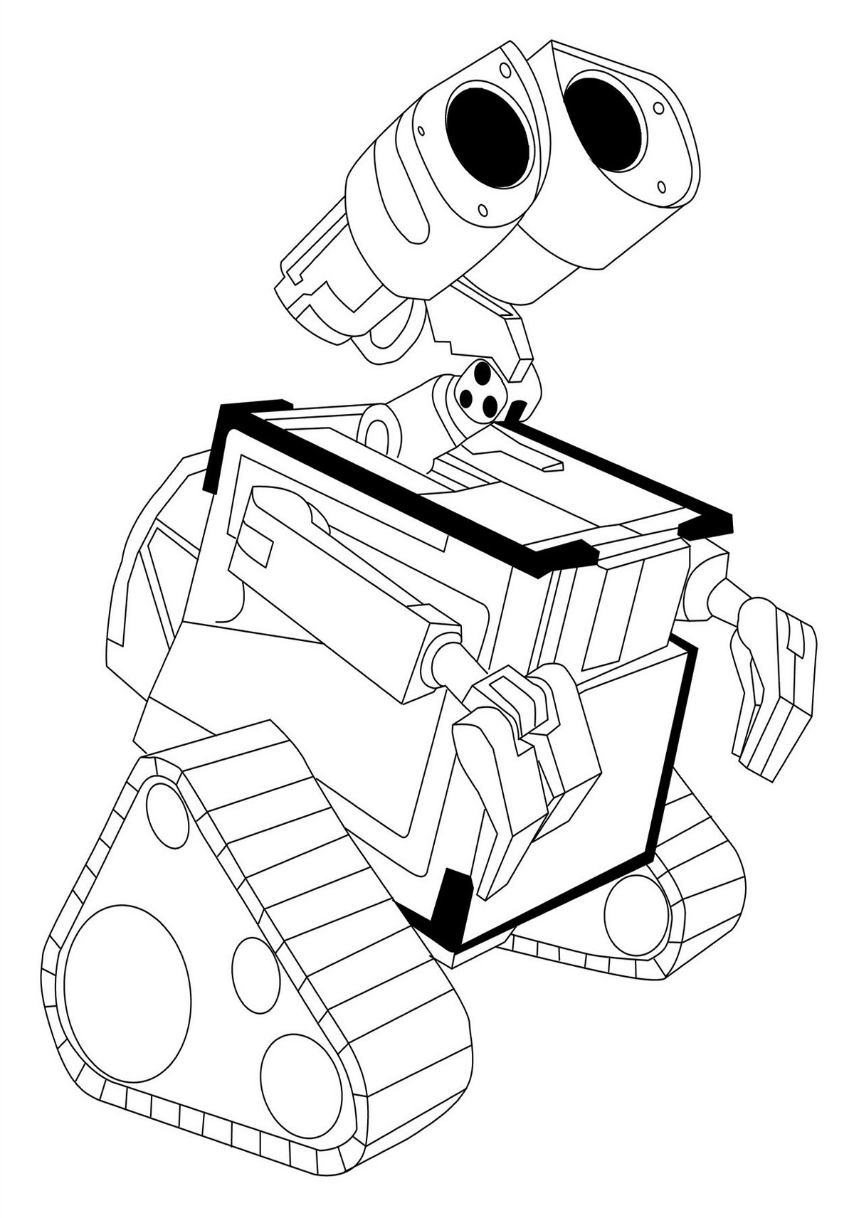 wall e coloring pages - wall e coloring