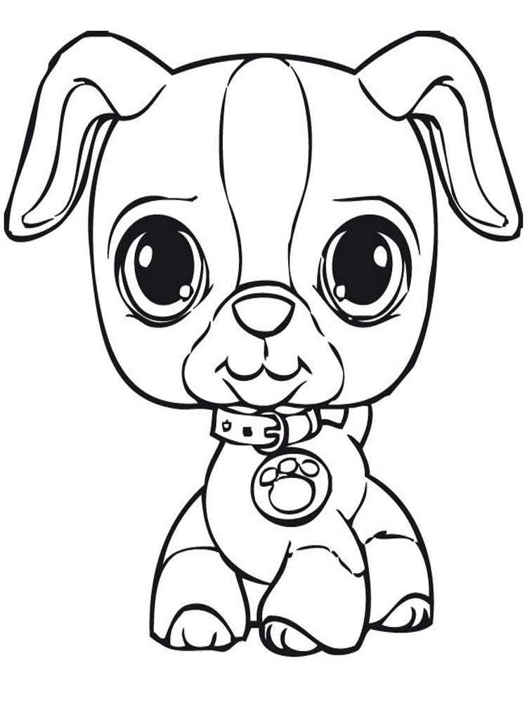 wallykazam coloring pages - littlest pet shop coloring pages