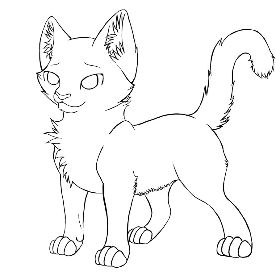 28 Warrior Cat Coloring Pages Compilation